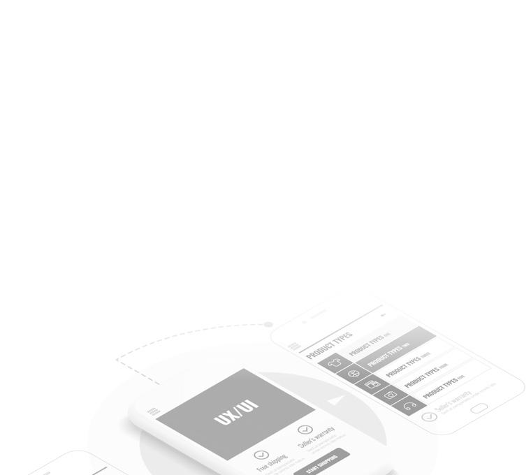 UI/UX mobile screen